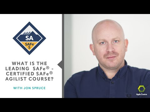 Leading SAFe - Certified SAFe Agilist - YouTube