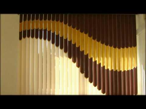 Вертикальные жалюзи, тканевые, пластиковые, мульти фактурные  ИННОВАЦИИ в декоре окна