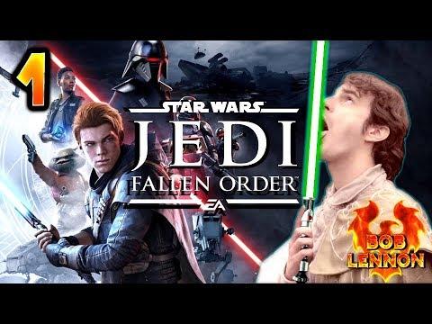 LE RETOUR DU LENNON !!! -Jedi : Fallen Order- Ep.1 avec Bob Lennon