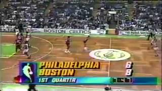 1990-91 Sixers vs. Celtics (1/7)