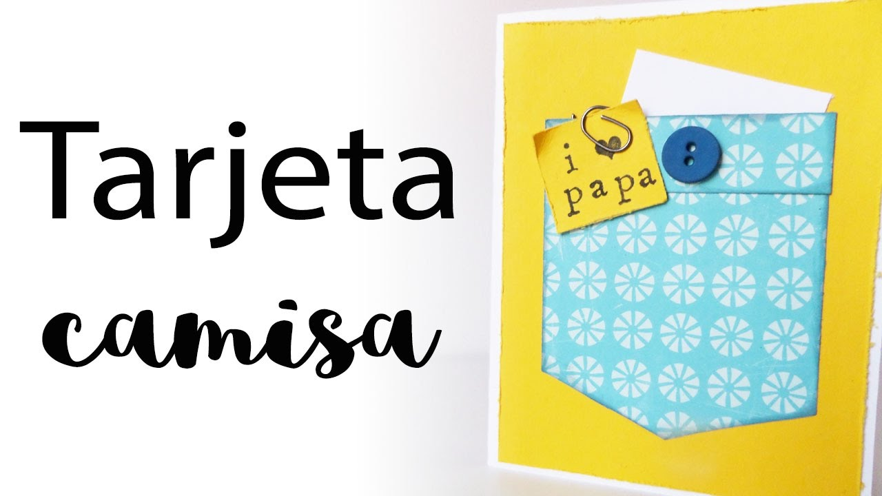 Tarjeta camisa Día del Padre | Father's Day Card