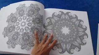The One And Only Mandala Colouring Book Flip Through