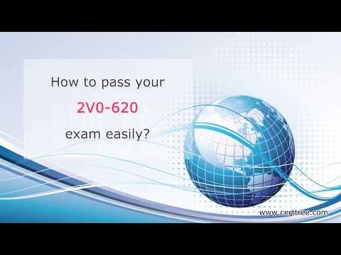 CertTree 2V0-620 vSphere 6 Foundations Exam questions