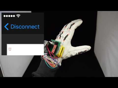 Low-cost smart glove translates American Sign Language into text