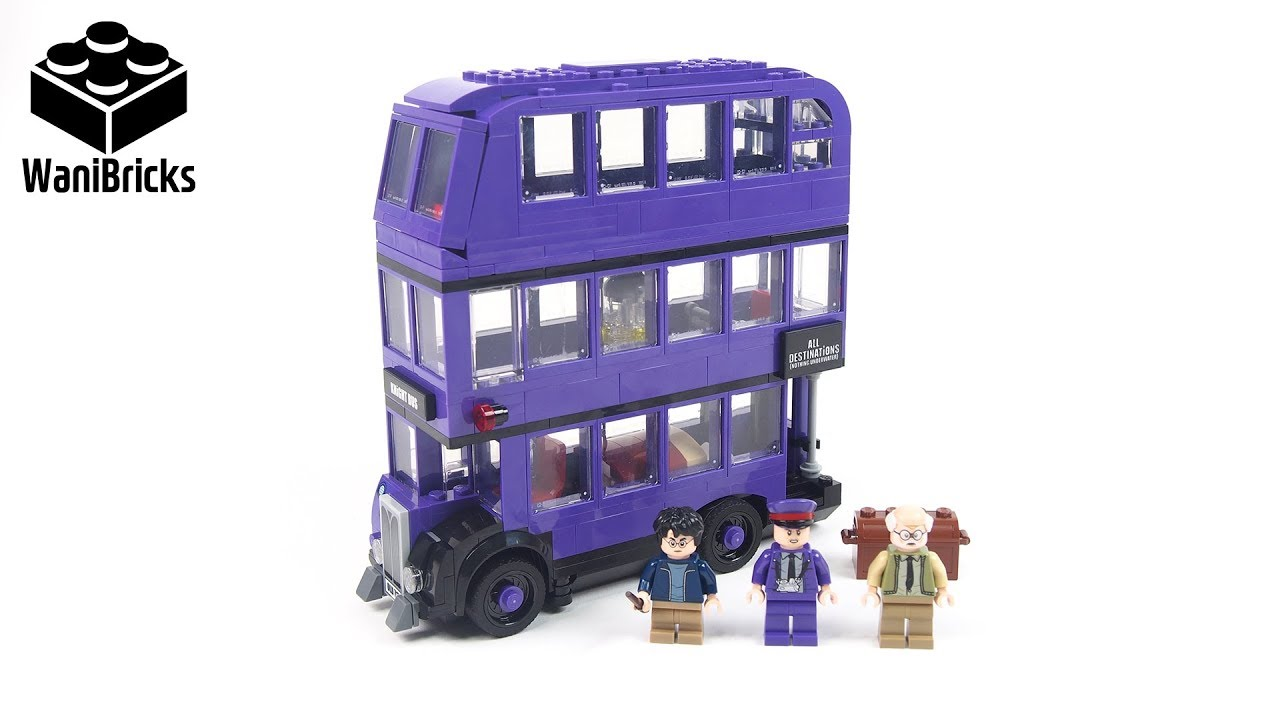 LEGO Harry Potter 75957 The Knight Bus - Lego Speed Build Review
