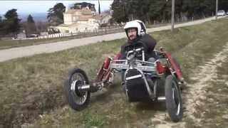 A Spider Car !!!!! Crazy French Offroad Vehicle