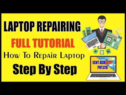 Computer Hardware course - Laptop Repairing Full course (हिंदी) Tutorial  LAPTOP REPAIR PRACTICAL