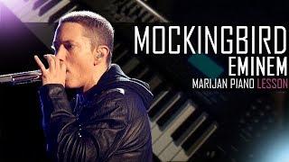 How To Play: Eminem - Mockingbird | Piano Tutorial Lesson + Sheets