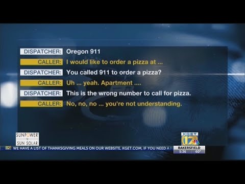 Woman disguises 911 call by ordering pizza