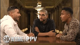 Tommy Fury & Anthony Taylor MVP Face 2 Face Interview with Ariel Helwani   SHOWTIME PPV