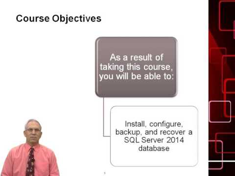 Administering a 2014 Microsoft SQL Server Database: Course ...