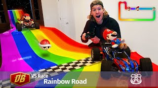 We Built Rainbow Road in our ENTIRE HOUSE!
