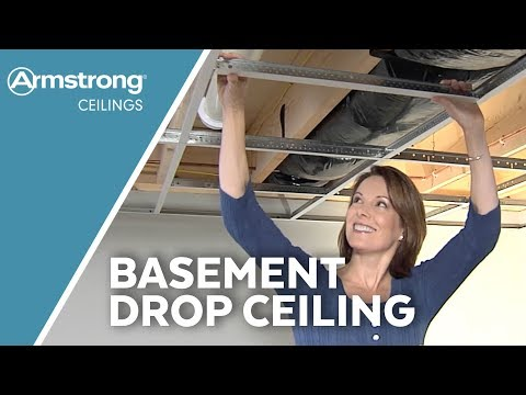 Basement Drop Ceilings | Armstrong Ceilings for the Home