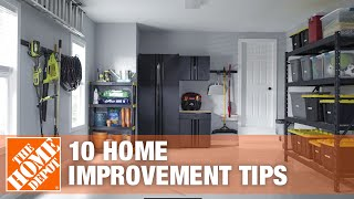 10 Home Improvement Tips | The Home Depot