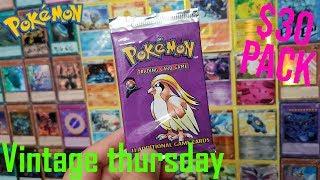 GOI: Vintage Thursday Ep:21 $30 Base Set 2 booster pack opening