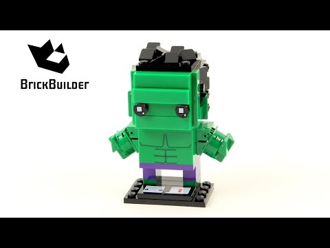 Vidéo LEGO BrickHeadz 41592 : Hulk