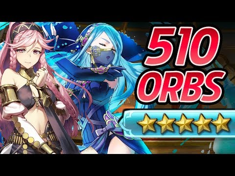 Download Fire Emblem Heroes - 510 Orbs Summons: AZURA,OLIVIA & INIGO! [Performing Arts Banner]