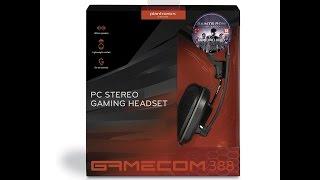 Plantronics GAMECOM 388 GAMING HEADSET - Cheap but amazing