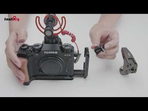 SmallRig L-Bracket Fujifilm X-T4 (Cage)
