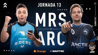 Movistar Riders VS Arctic Gaming   Jornada 13   Temporada 2018-2019