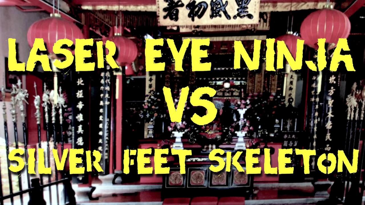 ninja ojo laser vs esqueleto