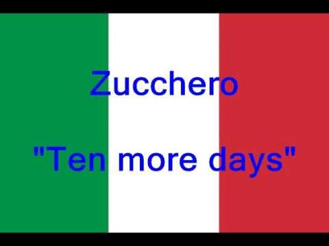 Zucchero - Ten more days (2017)