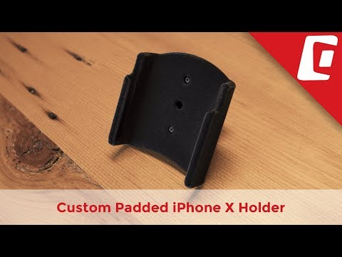 Play Video: Padded iPhone Holder