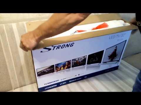 «Распаковка ТВ Strong SRT 32HY4003 из Rozetka.com.ua»