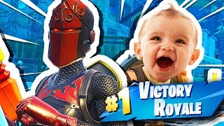 FORTNITE NOOB GETS HIS FIRST WIN!