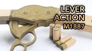 Amazing M1887 Gun | How To Make Cardboard Gun Shoots