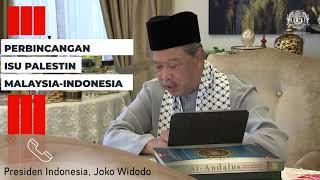 Perbincangan melalui telefon oleh YAB Perdana Menteri Malaysia dengan Tuan Yang Terutama Joko Widodo, Presiden Republik Indonesia berhubung situasi terkini di Palestin.