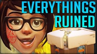 BLIZZARDS RUINING EVERYONES FUN! (AFK Farming - Is It Bad - Overwatch)