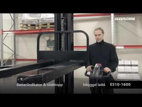 El-stabler ES10-1600 løftehøjde 1600 mm - 1000 kg