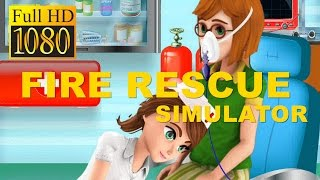 Kids Fire Rescue Simulator Game Review 1080P Official Happy Baby Games 2016