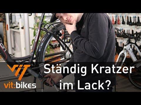 Ständig Kratzer im Lack? - Überblick Fahrradständer - vit:bikesTV