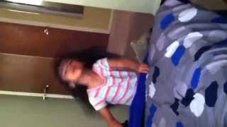 "My cute little cousin doing ""whip my hair""-willow smith"