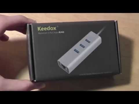 REVIEW: Keedox 3 Port USB 3.0 Hub with Ethernet