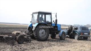 Под Омском фермеры в одиночку бьются с крупной компанией за пашню - видео