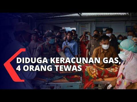 Warga Diduga Keracunan Gas, 4 Orang Tewas