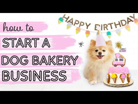 How to start a Dog Bakery Business E-COURSE - YouTube