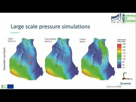 Pre-ACT Webinar #1 (24 March 2020) - Part 1: Pressure propagation and saturation changes in reservoirs displaying geological heterogeneity (Hayley Vosper, BGS) Part 2: Acoustic emission testing - Investigation of the footprint of a pressure plume (Pierre Cerasi, SINTEF)