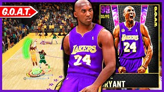 G.O.A.T. KOBE BRYANT IS THE BEST.......MY CRAZIEST GAMEPLAY WITH THE MAMBA! NBA 2k21 MyTEAM