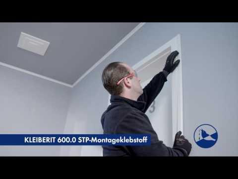 KLEIBERIT 600.0 STP-Montageklebstoff - Kabelkanal anbringen