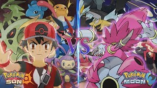 Hoopa  - (Pokémon) - Pokemon Sun and Moon: Champion Ash Vs Hoopa Unbound (Pokemon Movie)