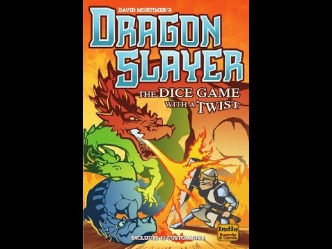 How to play Dragon Slayer: The Dice Game with a Twist