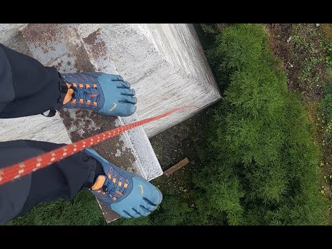 Five Fingers Trek Ascent Outdoor Test im Thüringer Wald (deutsch) Zehenschuhe