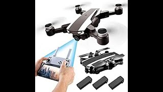 S105 PRO Drone GPS 5G Wifi Professional 4K HD Double Camera Brushless Motor Drones Stabiliser, Drone