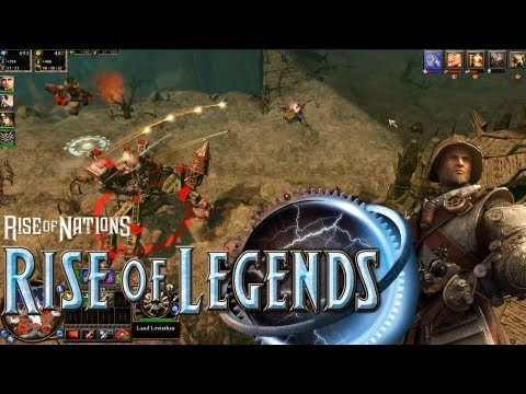 rise of nations rise of legends pc gameplay