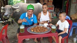 Mẻm Trâu Nướng - Cười Há Mồm Khi Mao Đệ Mang Đồ Ăn Ra Trung Tâm Thương Mại Làng Để Uống Bia