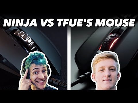 Ninja's Mouse Vs. FaZe Tfue's Mouse: We Try Gaming Mice Used By Pro Gamers in Fortnite / CS:GO